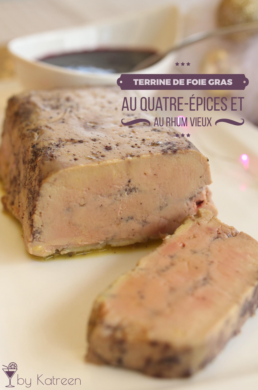 une terrine de foie gras aux quatre