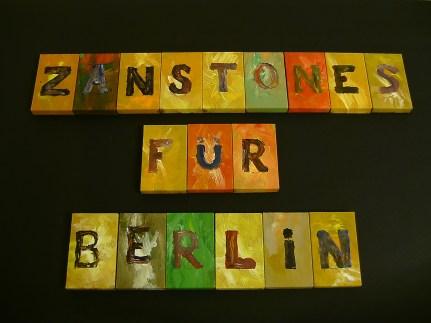 Zanstones für Berlin, second edition