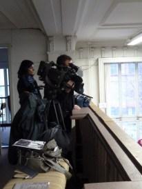 Das ZDF-Filmteam