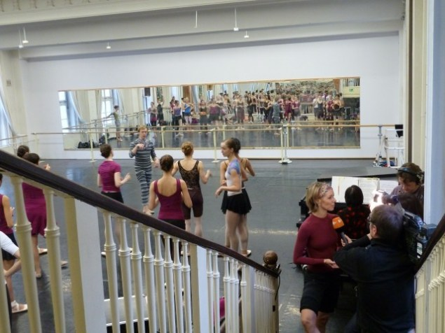 Interview im Ballettsaal
