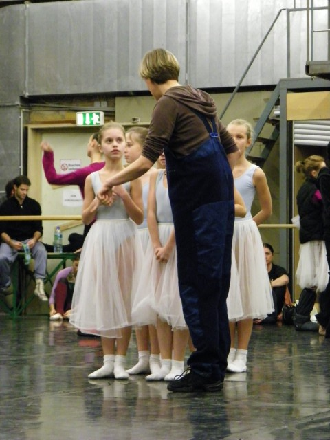 Ballettmeisterin...