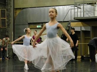 Eine kleine Tänzerin