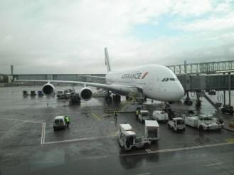 Der A380 bringt das SBB sicher nach Tokyo.