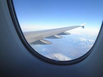 Im Landeanflug auf Tokyo.