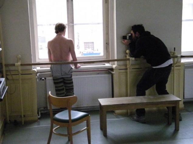 Das Model & der Fotograf.
