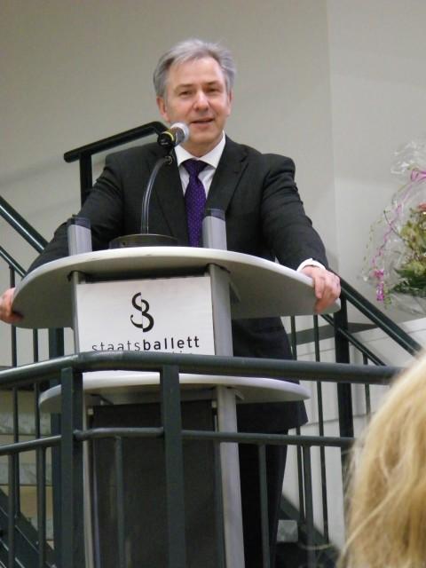 Klaus Wowereit bei seiner Ansprache.