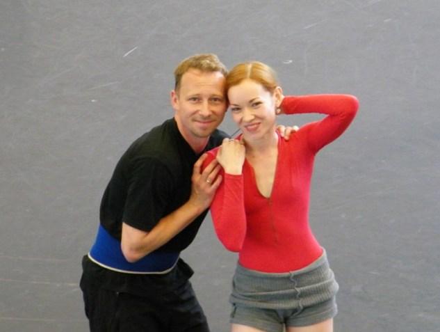 Keep smiling: Robert & Iana!