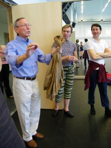 Tom Schilling lobt die Compagnie, die sich sehr geehrt fühlt!