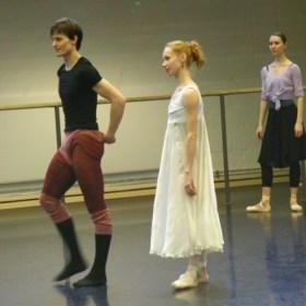 Marian Walter & Iana Salenko, im Hintergrund Anastasia Kurkova.