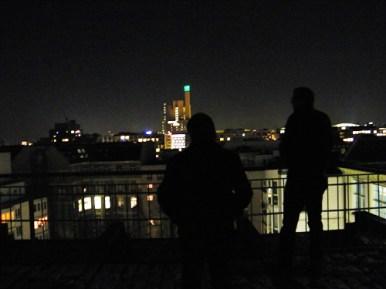 ... hier gab es: Berlin bei Nacht.