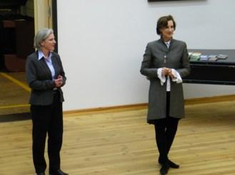 ... Dorothea Katzer & Dr. Christiane Theobald, stellv. Intendantin und Betriebsdirektorin des Staatsballetts Berlin...