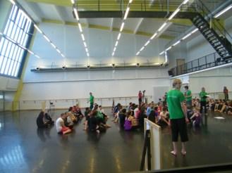 Sonst findet hier das Training unserer TänzerInnen statt.