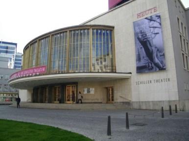Der Ort des Geschehens: Staatsoper im Schiller Theater