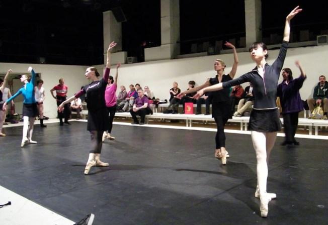 Übungen ohne Ballettstange.