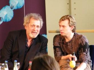 Boris Eifman und sein Übersetzer. ;-)