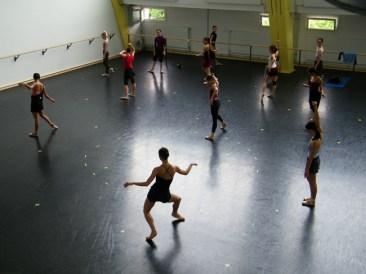 Im Ballettsaal 2...