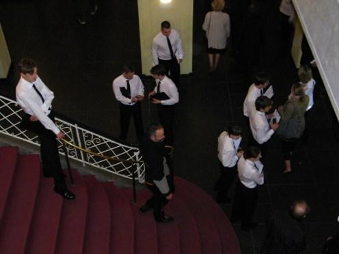 Im Foyer: Was geht hier eigentlich vor sich? ;-)
