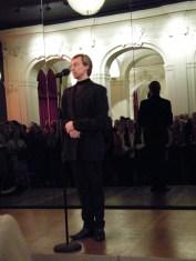 Vladimir Malakhov bei der Danksagung...