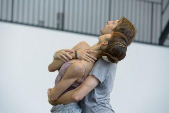Shoko Nakamura und Wieslaw Dudek bei Proben zu BALLET IMPERIAL (c) Bettina Stöß