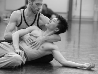 Wei Wang und Federico Spallitta © Bettina Stöß