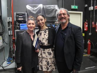 Samira Saidi, Polen Gezmis und Eriberto Verardi