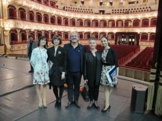 Nina Ananiashvili, Samira Saidi, Eriberto Verardi & Polen Gezmis im Theatre Petruzzelli