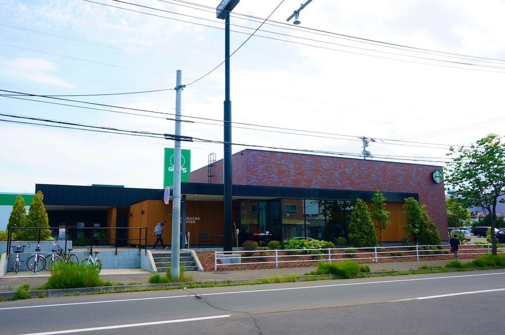 スタバ 帯広稲田店