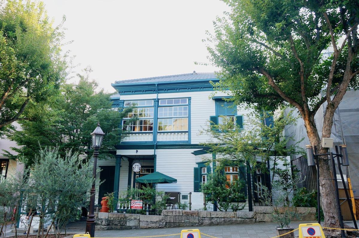 ランドマークストア スタバ 神戸北野異人館