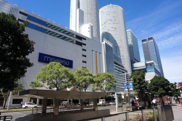 名鉄百貨店とJR名古屋駅
