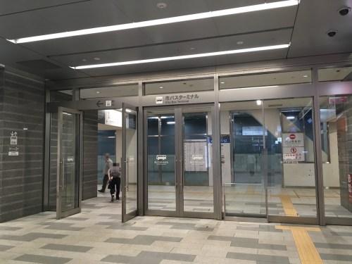 名古屋駅 市バスターミナル