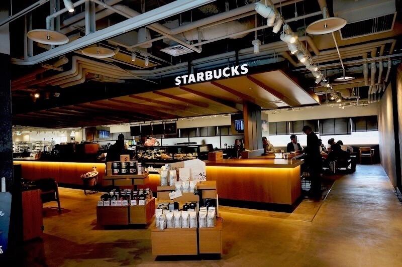 スタバ 羽田空港第1ターミナル THE HANEDA HOUSE5階店