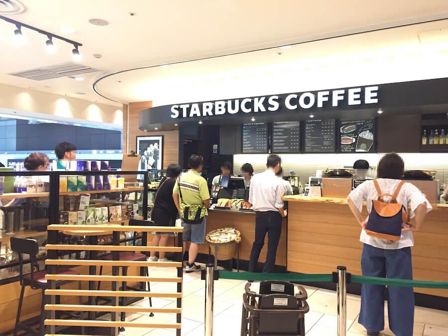 スタバ 羽田空港第1ターミナル マーケットプレイス3階店