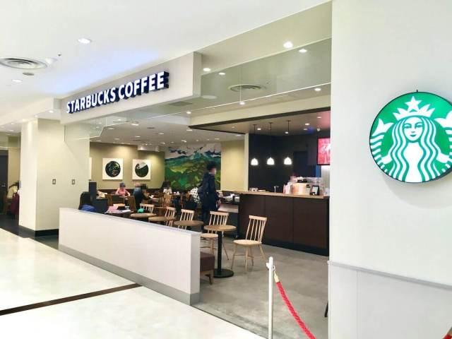 スタバ 浜松メイワン2階店