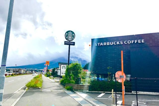 スタバ 富士吉田店