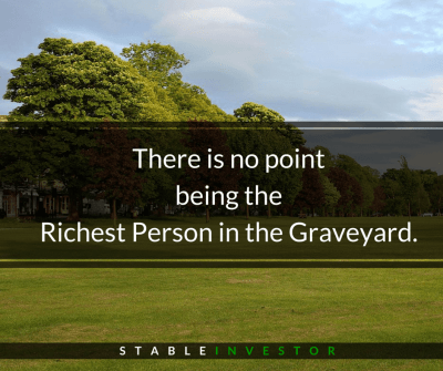Richest Person Graveyard