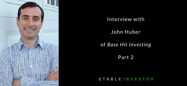 John Huber Basehit Investing Interview