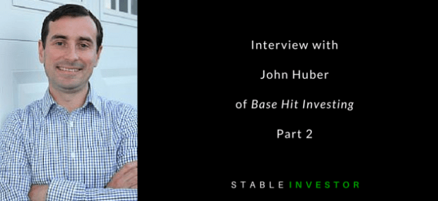 John Huber Basehit Investing Interview