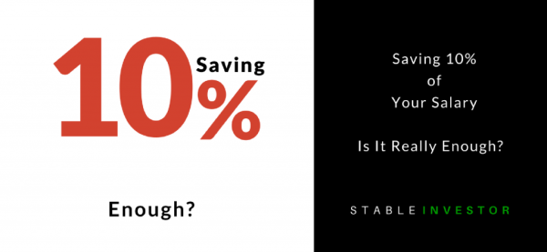 saving 10% of your salary
