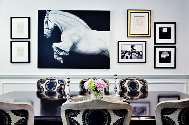 5 Ways to Decorate with Oversized Equine Art