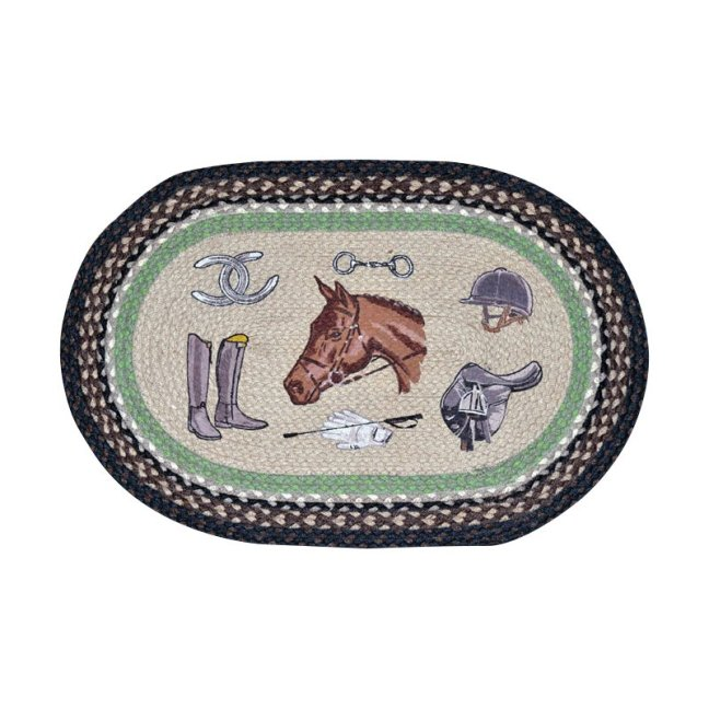 Equestrian+Printed+Area+Rug