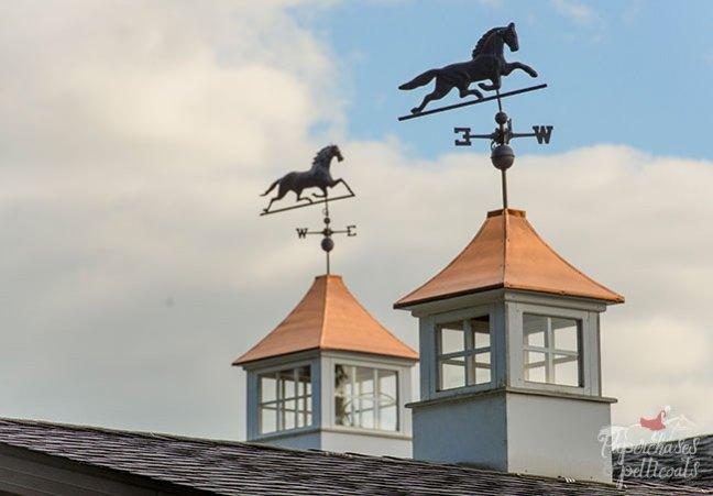 Beautiful horse weather vanes