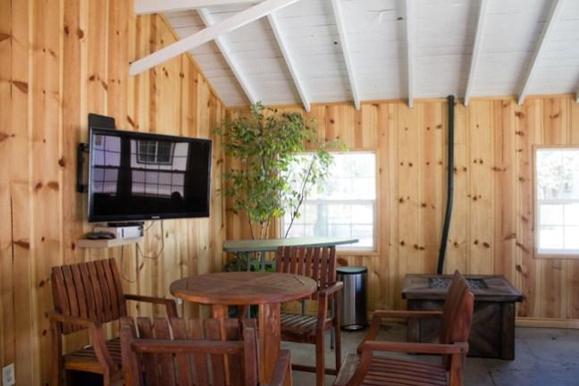 The Paddock Riding Club lounge area