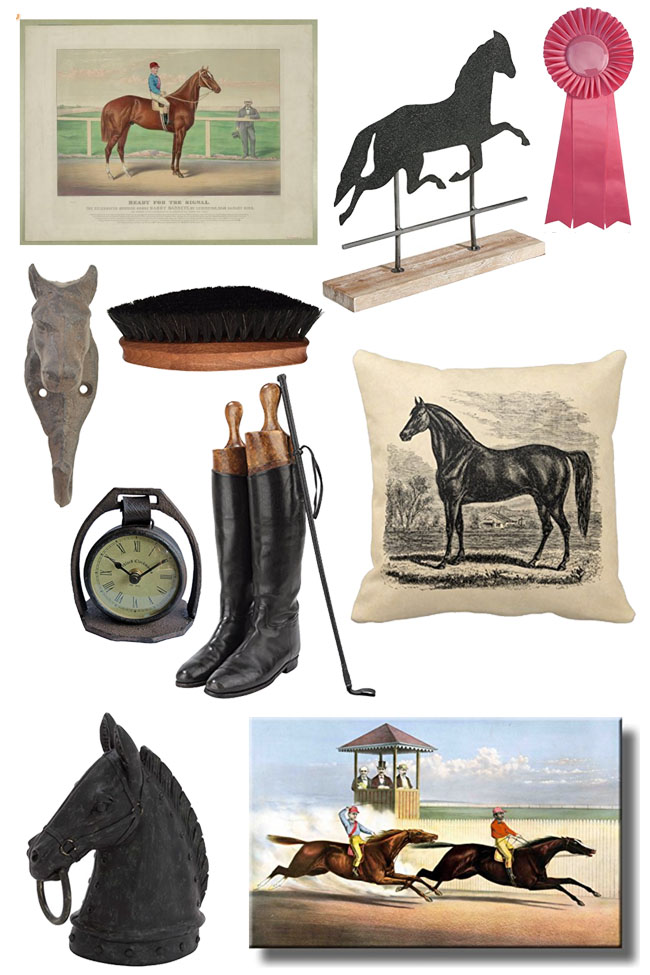 Vintage Inspired Equestrian Accessories For The Home Stable Style