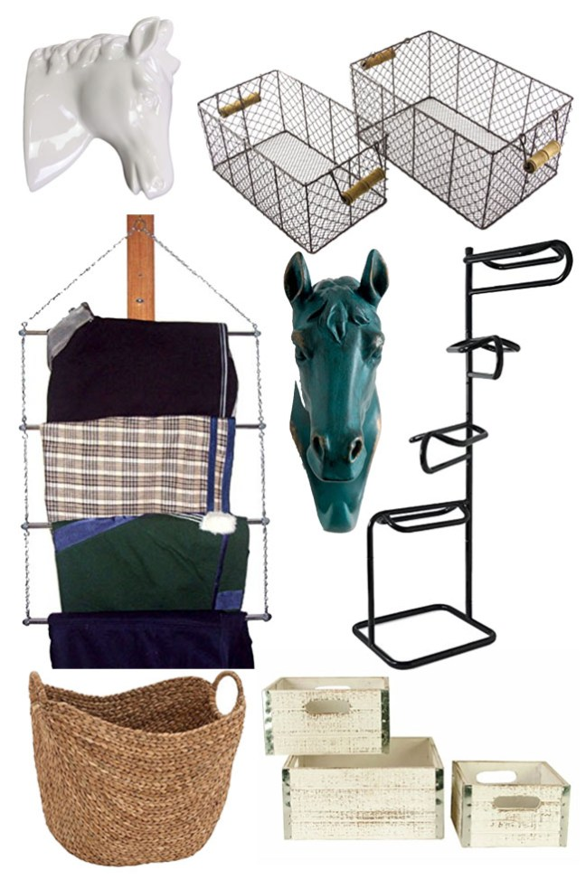 tack room storage and organization