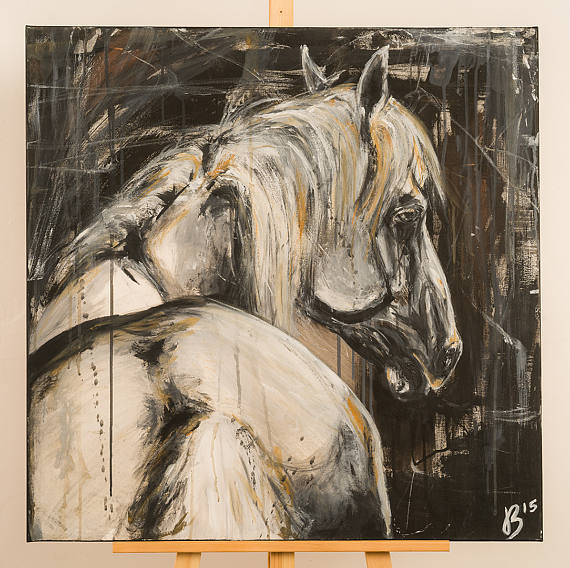 equine artwork abstract