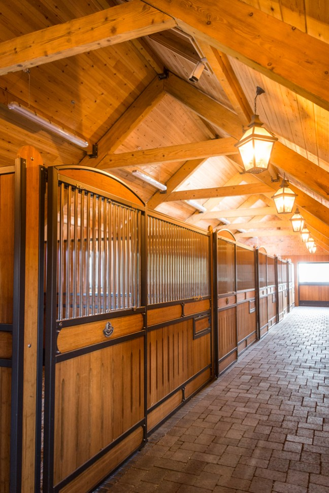 the stable interior