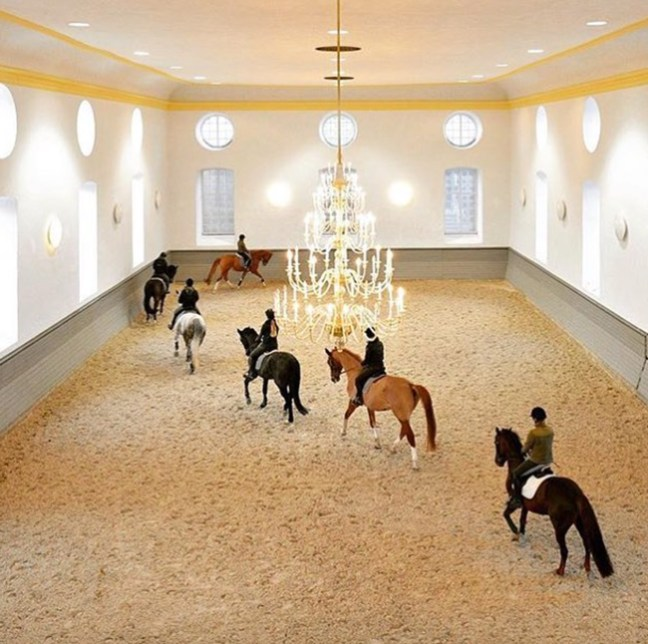 amazing indoor riding arena