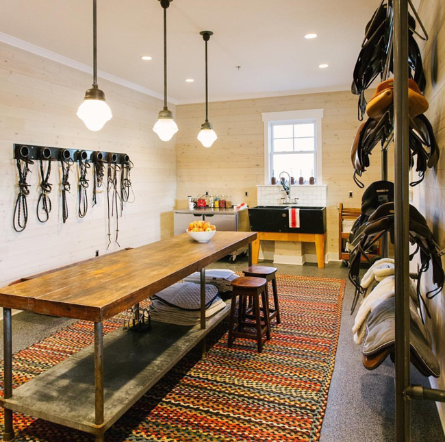 Game Room Flooring: 10 Tack Rooms On Instagram To Inspire You