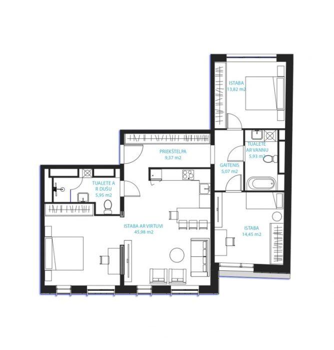 Dzīvoklis Nr.25