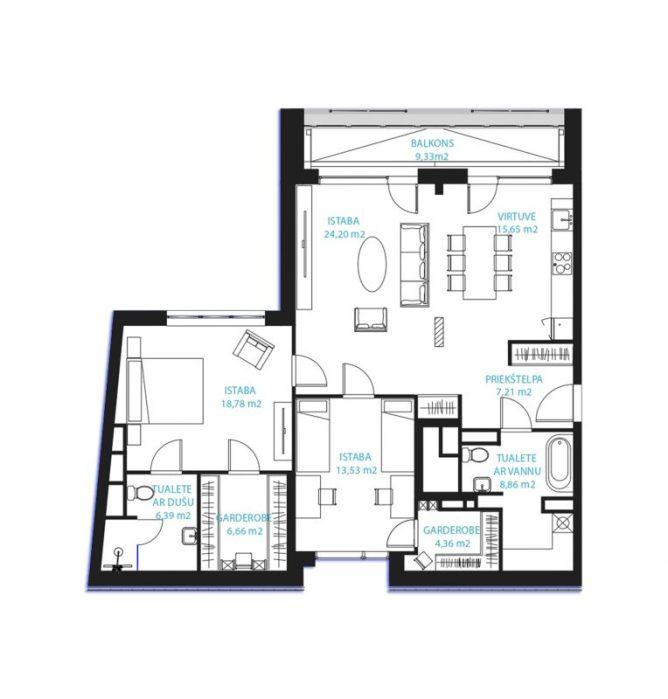 Dzīvoklis Nr.31